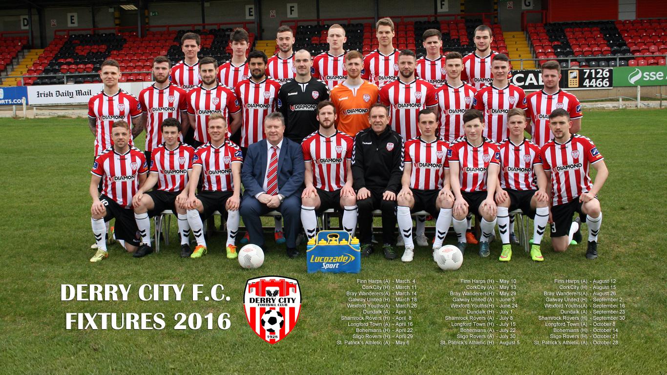 Free Desktop Wallpaper Download!! – Derry City Football Club